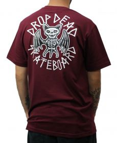Camiseta Drop Dead X-RAY Vinho
