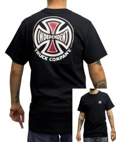 Camiseta Independent BARC Cross Logo Preta