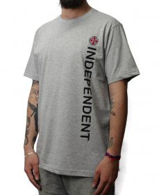 Camiseta Independent Directional  Cinza Mescla