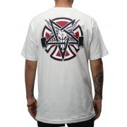 Camiseta Independent x Thrasher Pentagram Branca