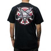 Camiseta Independent x Thrasher Pentagram Preta