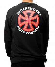 Camiseta Manga Longa Independent Bauhaus Cross