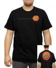 Camiseta Santa Cruz Classic Dot 2 Preta