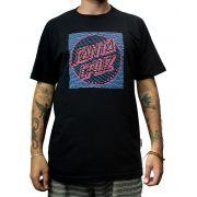 Camiseta Santa Cruz Lines Preta