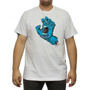 Camiseta Santa Cruz Screaming Hand Branca