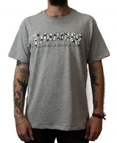 Camiseta Thrasher Magazine Roses Cinza