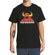 Camiseta Toy Machine Monster Preta