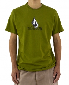 Camiseta Volcom Supple Verde Oliva