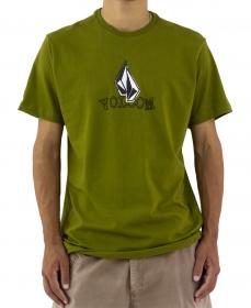 Camiseta Volcom Supple Verde Oliva