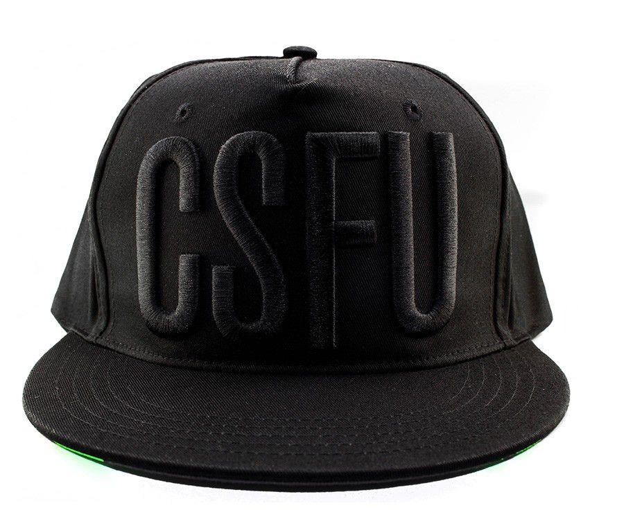 Boné Snapback Creature CSFU Block Preto