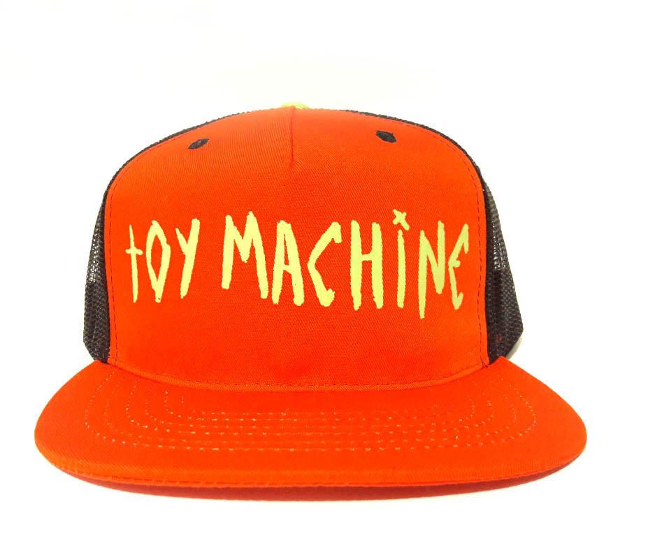 Boné Trucker Toy Machine Laranja Eye on BIll