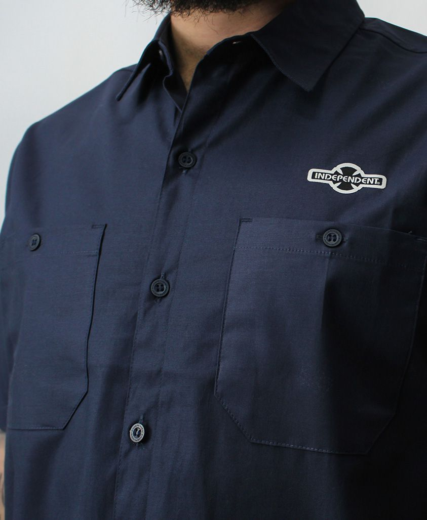 Camisa Independent OGBC Work Azul