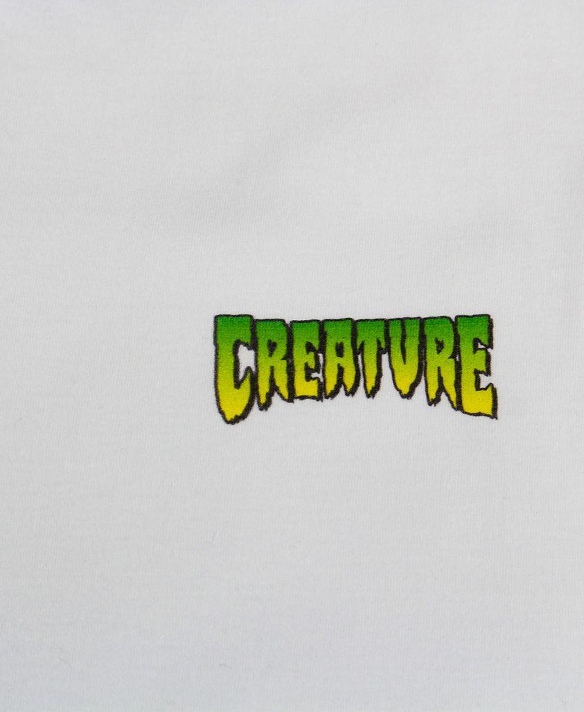 Camiseta Creature Logo Mini Branca