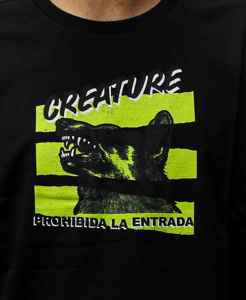 Camiseta Creature Prohibida Preta
