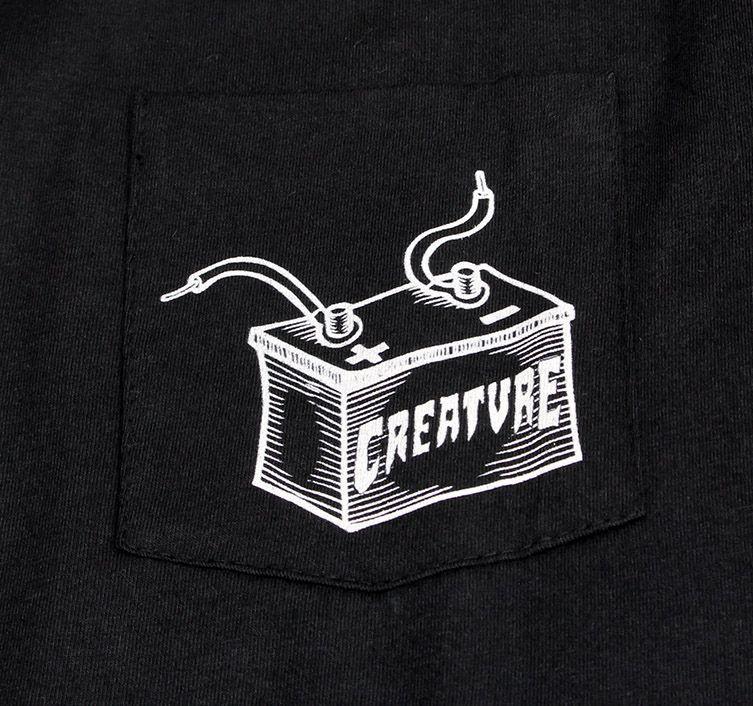 Camiseta Creature Wirez Preta