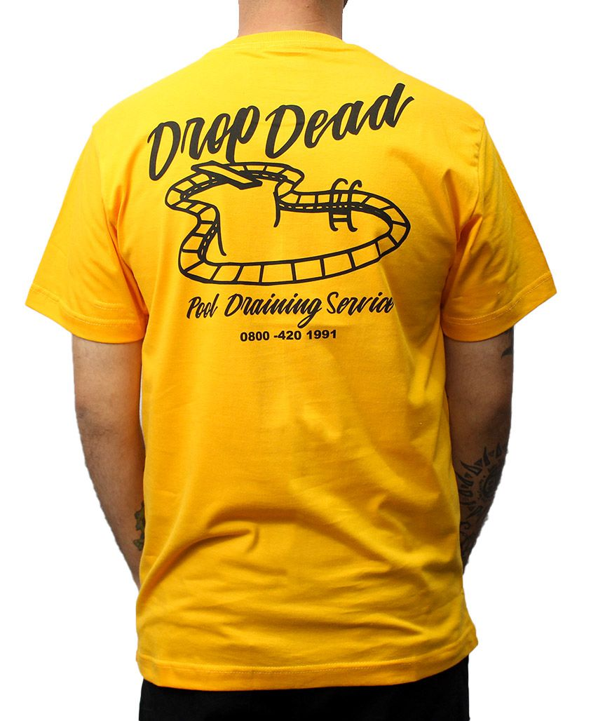 Camiseta Drop Dead Pool Service