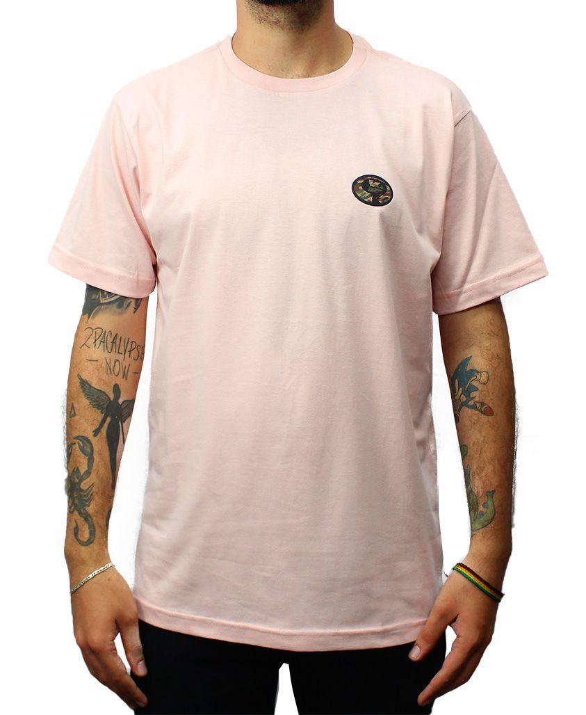 Camiseta Drop Dead Warfare Bottom Rosa