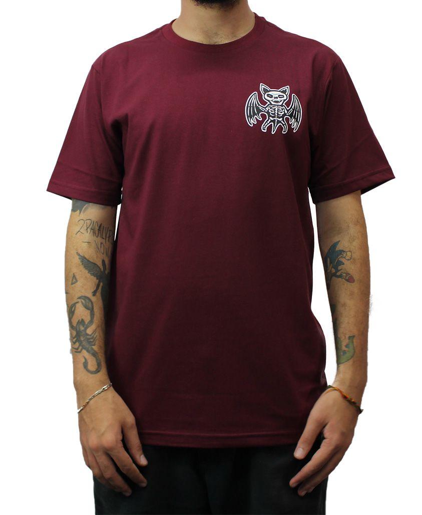 Camiseta Drop Dead X-RAY Vinho