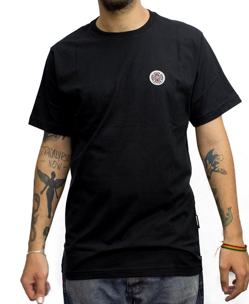Camiseta Independent BARC Cross Logo Preta