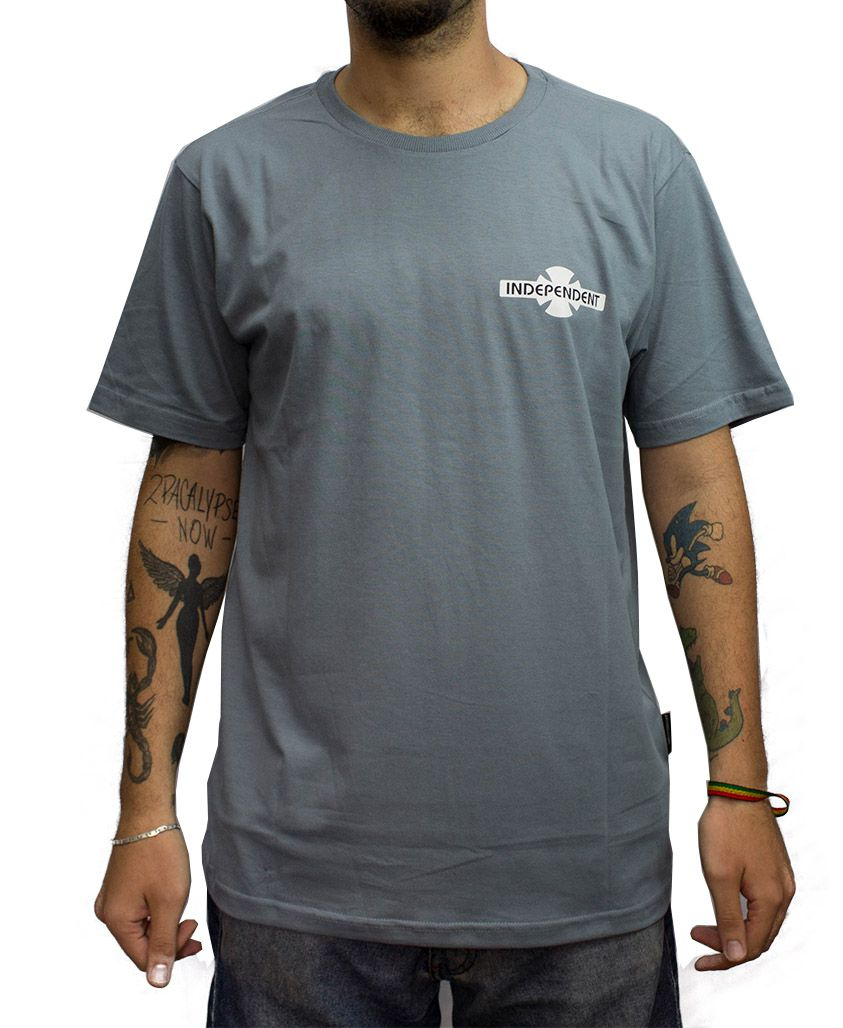 Camiseta Independent Built to Grind Azul claro