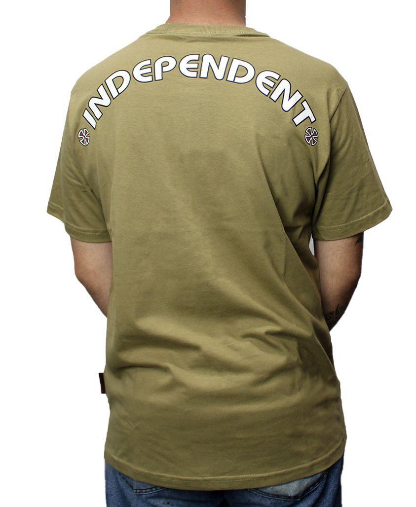 Camiseta Independent NOBS Caqui