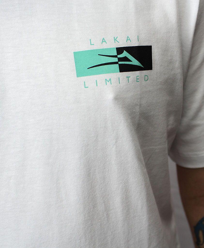 Camiseta Lakai Divergence Branca