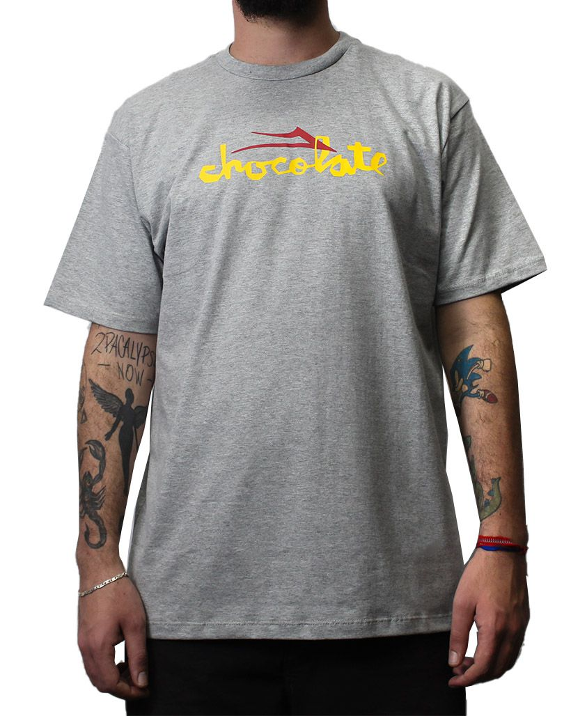 Camiseta Lakai x Chocolate Flare Cinza