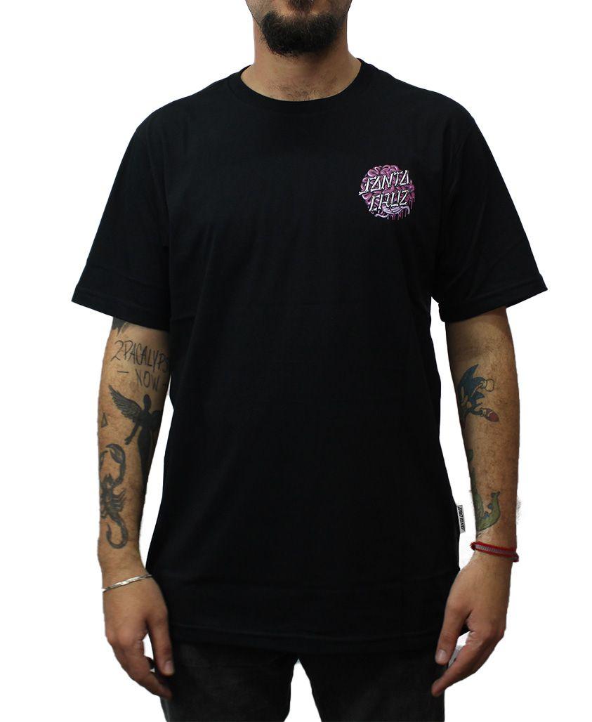 Camiseta Santa Cruz Brain Dot