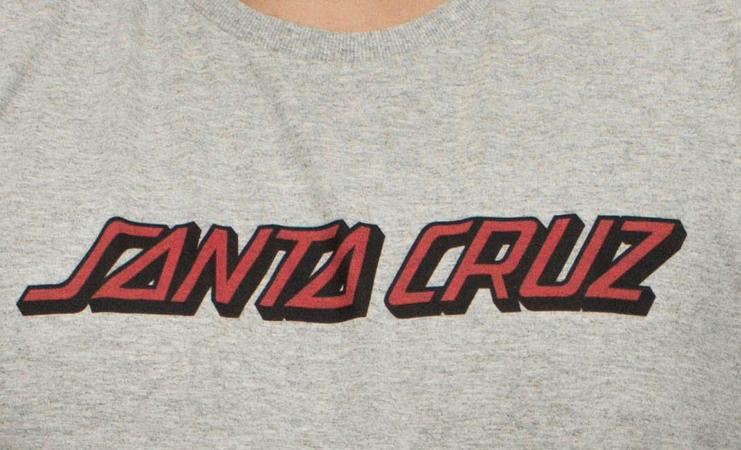 Camiseta Santa Cruz Classic Strip Cinza