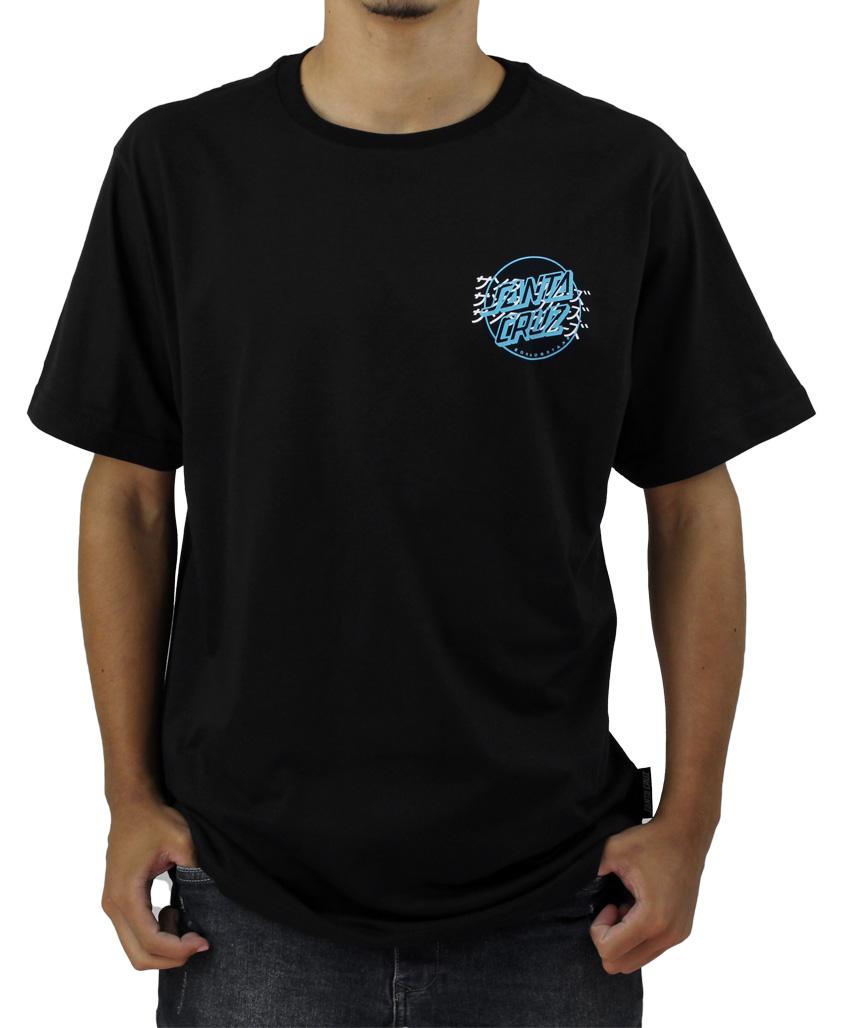 Camiseta Santa Cruz Crime Hand Preta