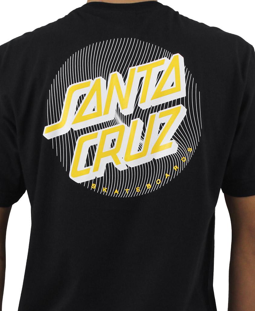 Camiseta Santa Cruz Flex Dot Preta