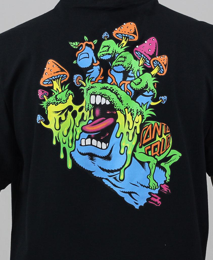 Camiseta Santa Cruz Toxic Hand Preta