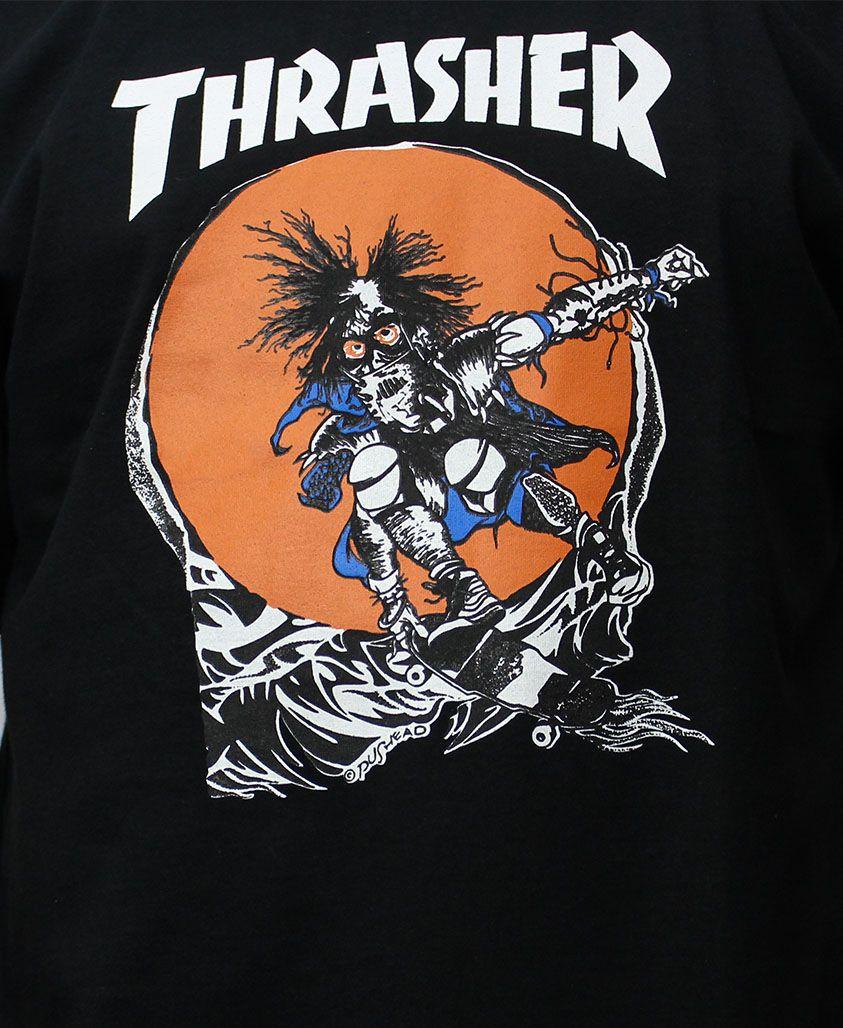 Camiseta Thrasher Magazine Outlaw Preta
