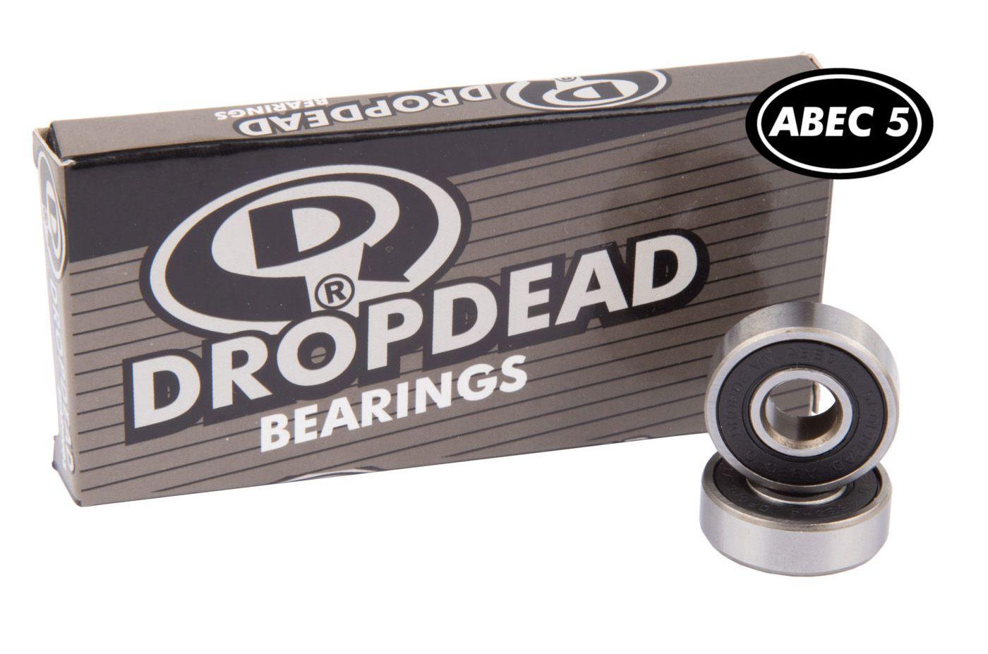 Rolamento Drop Dead ABEC 5 Carbon Bearing
