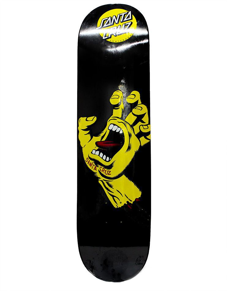 Shape Santa Cruz Powerlyte 8.25 Screaming Hand Preto Metalico