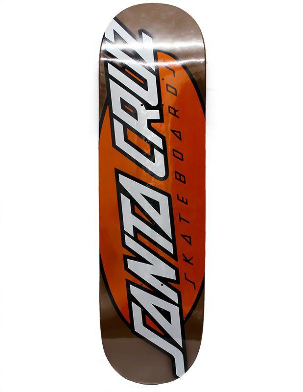 Shape Santa Cruz Powerlyte 8.37 Large Dot Laranja