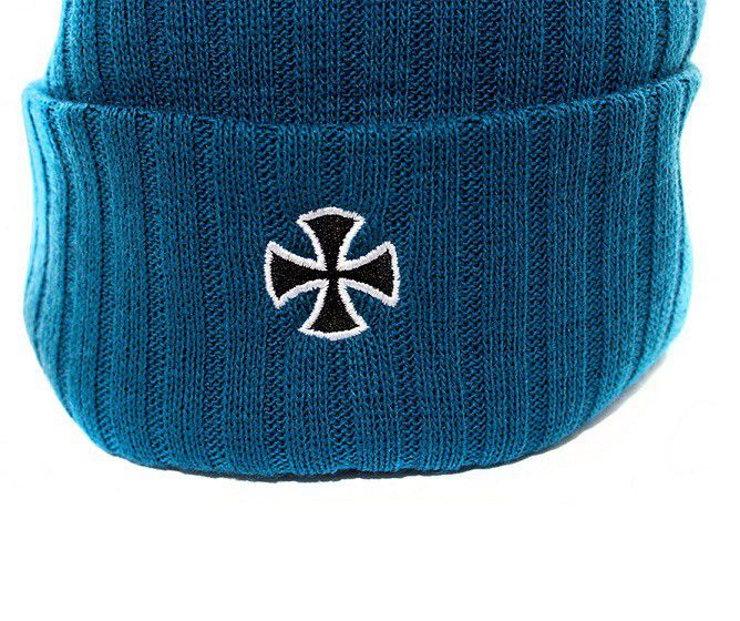 Touca Independent Cross Ribbed Azul