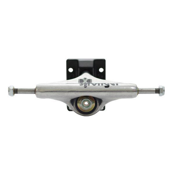 Truck Stronger 139mm Double Hollow Polido e Preto