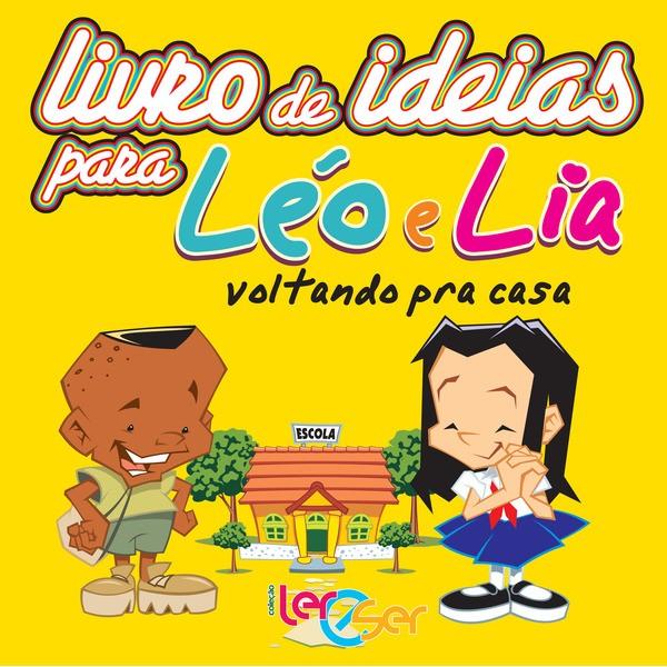 Livro de Ideias - Léo e Lia voltando pra casa