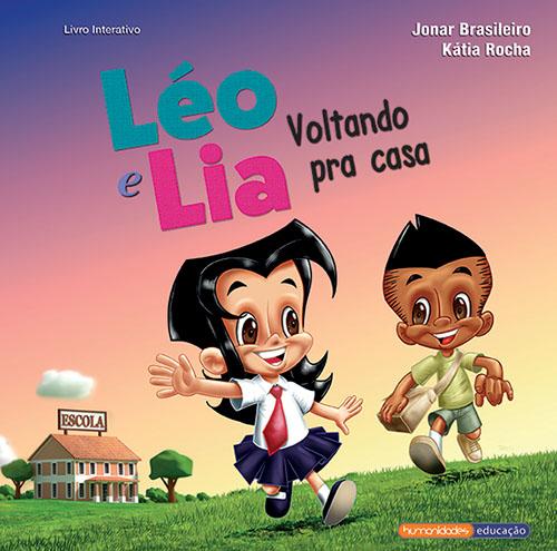 Léo e Lia voltando pra casa