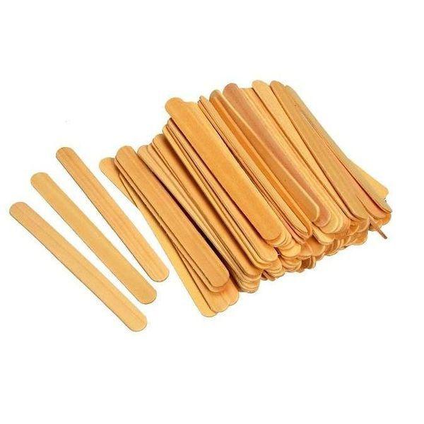 Palito de madeira para depilação 100un