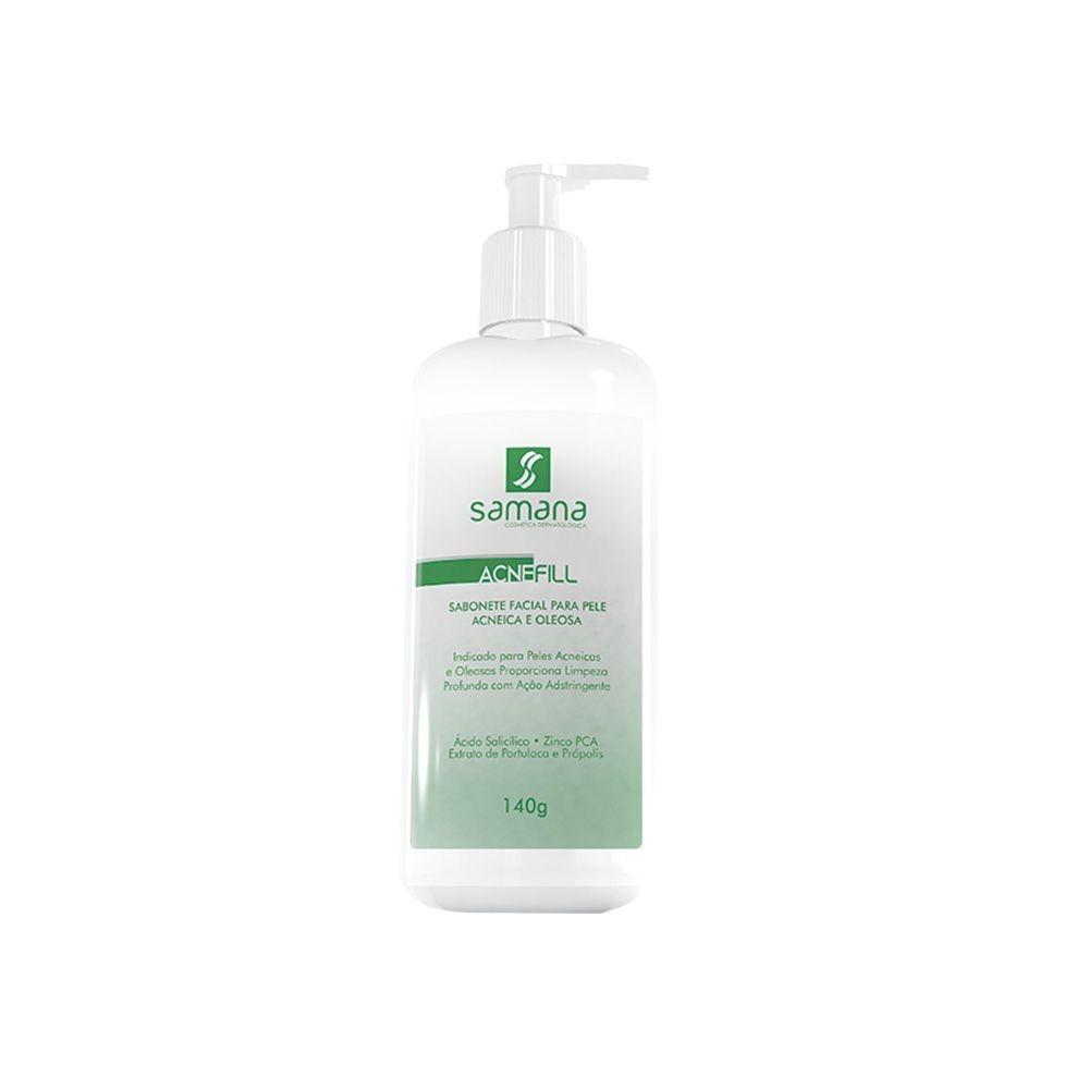 Sabonete para pele Acneica e Oleosa Acne Fill 140ml - Samana