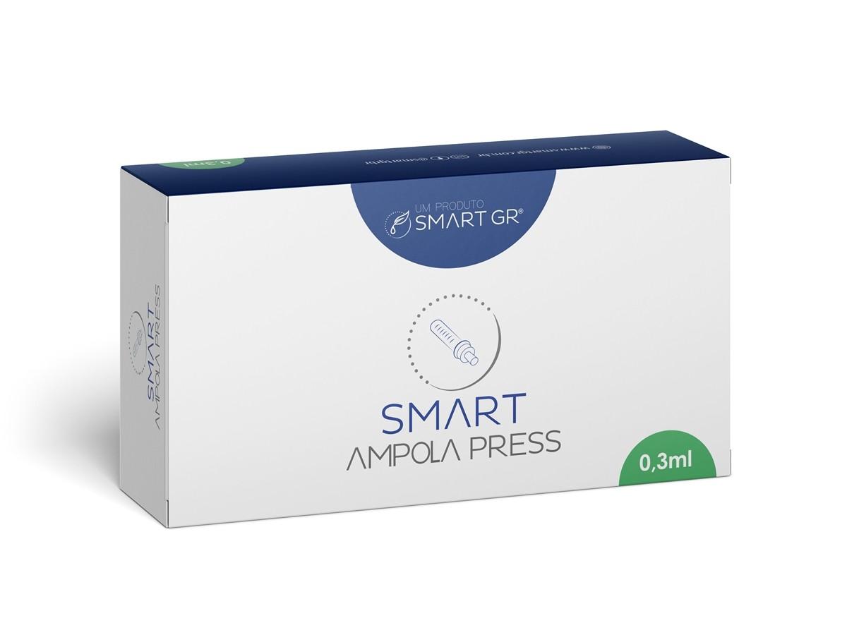 Ampola – Seringa Descartável para Caneta Pressurizada Smart Press 0,3 ml – Smart Gr