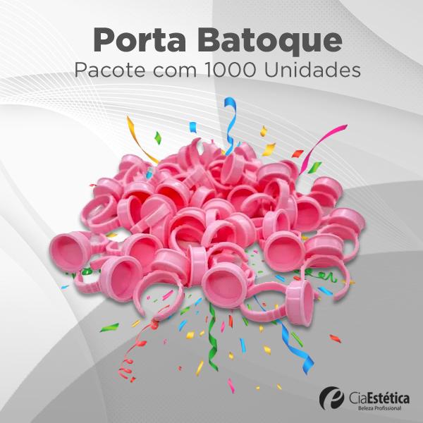 Anel Porta Batoque Rosa c/100 unidades