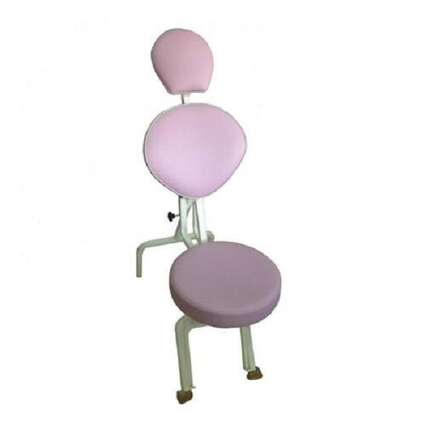 Cadeira De Maquiagem Portátil Lilás - Ramsor