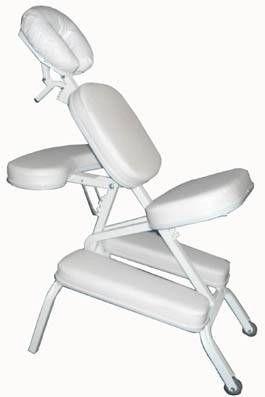 Cadeira para Massagem Quick Massage / Shiatsu Branco QM-99 - Ramsor