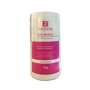 Cellu Reduce Creme Termogênico 1Kg - Samana Profissional
