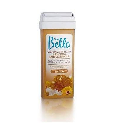 Cera Depilatória Roll-on Camomila 100g- Depil Bella