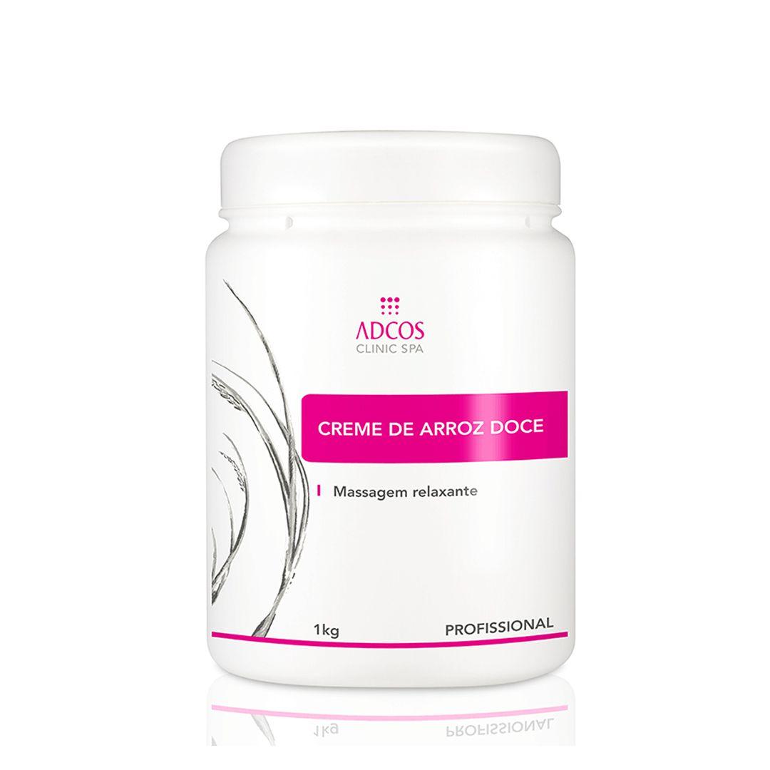 CLINIC SPA Massagem Relaxante Creme de Arroz Doce 1kg - Adcos