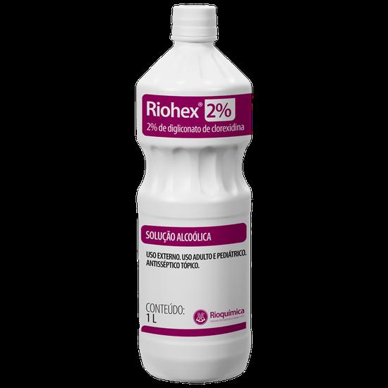 Clorexidina Riohex 2% - Solução Dergemante 1L - RIOQUÍMICA